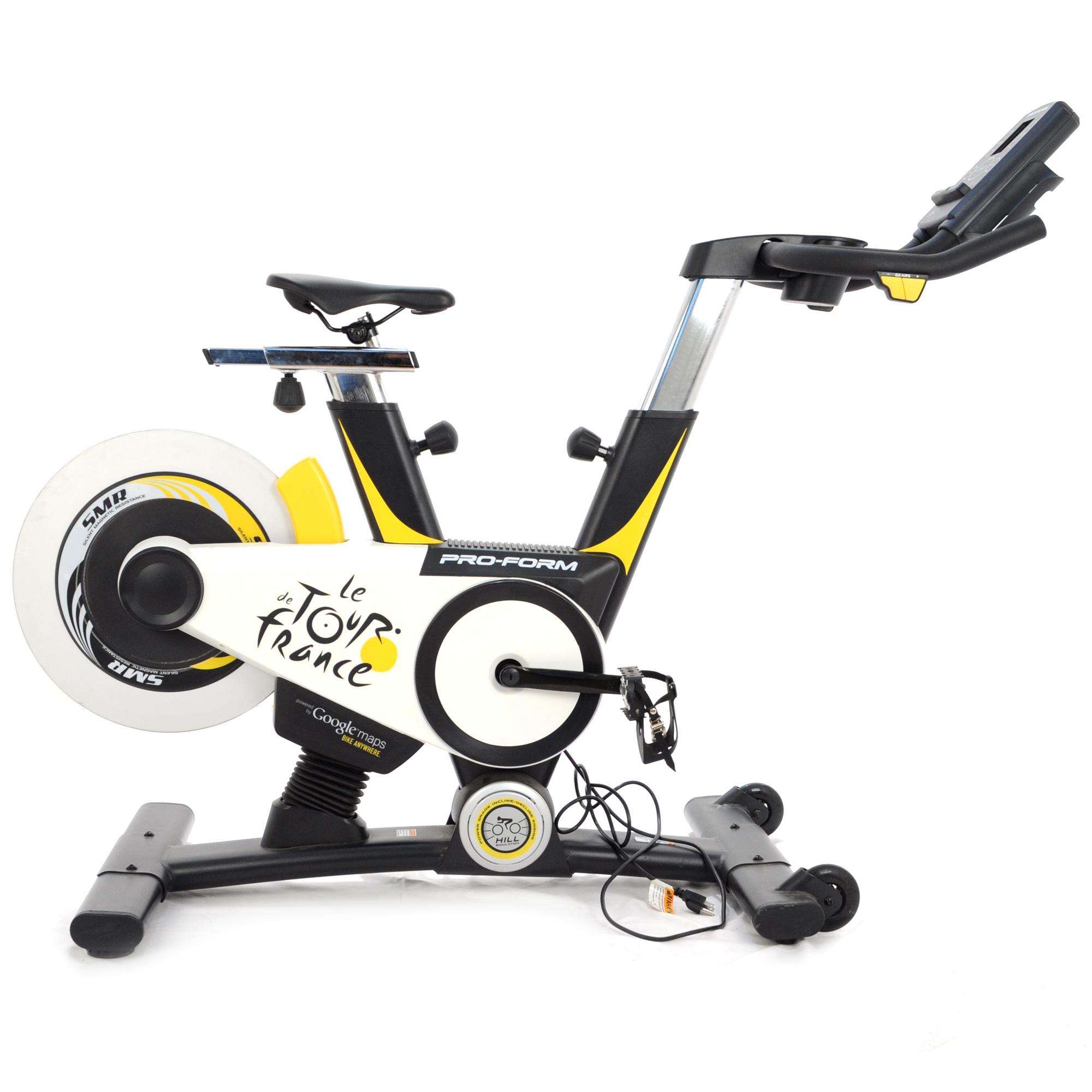 Bike Trainer En Francais: PRO-FORM Le Tour De France Stationary Spin Bike