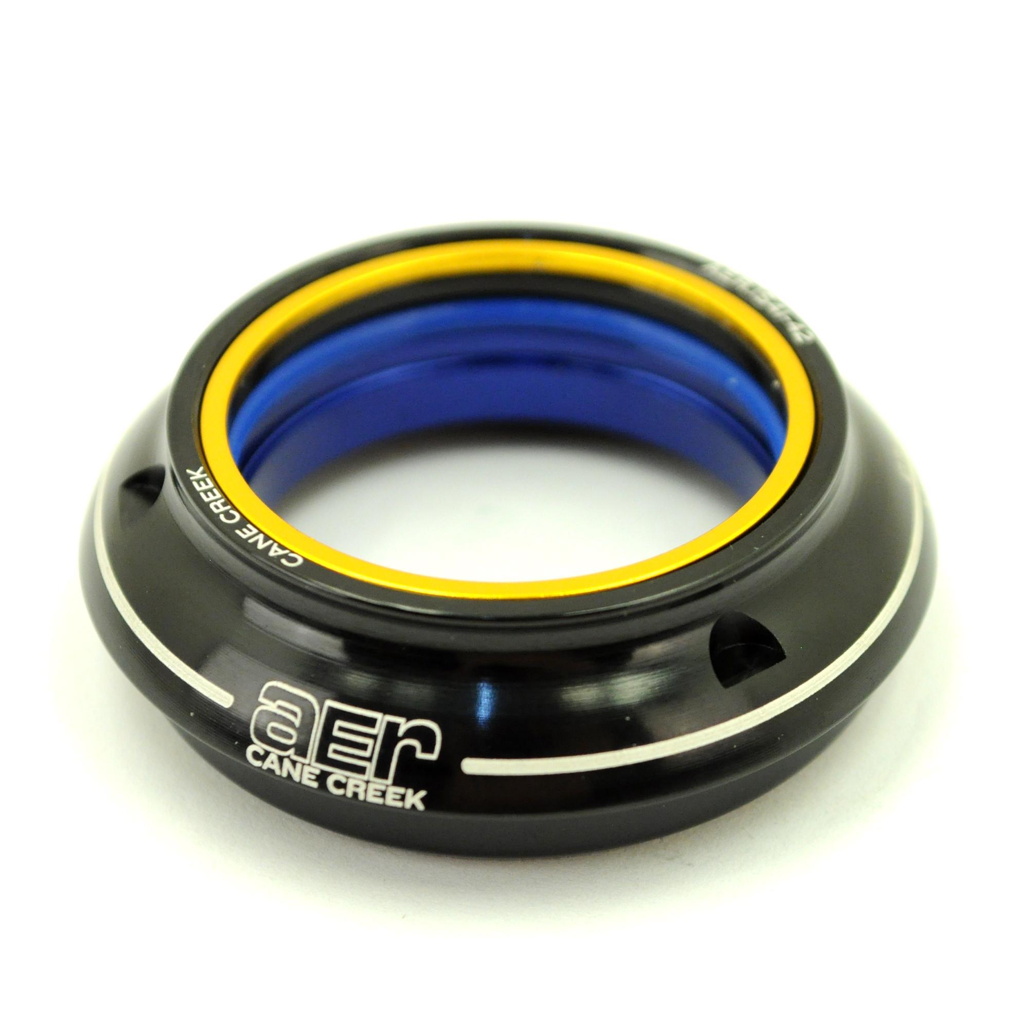"""Cane Creek AER Traditional 1-1//8/"""" Black Headset NIB"""
