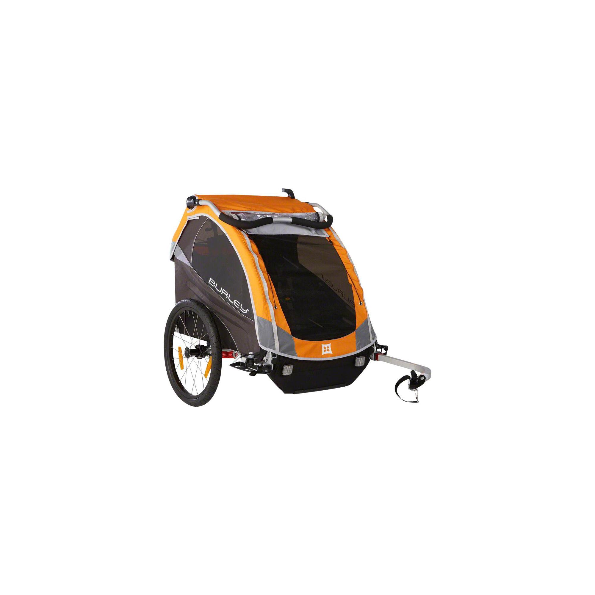 burley d 39 lite child trailer orange 840840008824 ebay. Black Bedroom Furniture Sets. Home Design Ideas