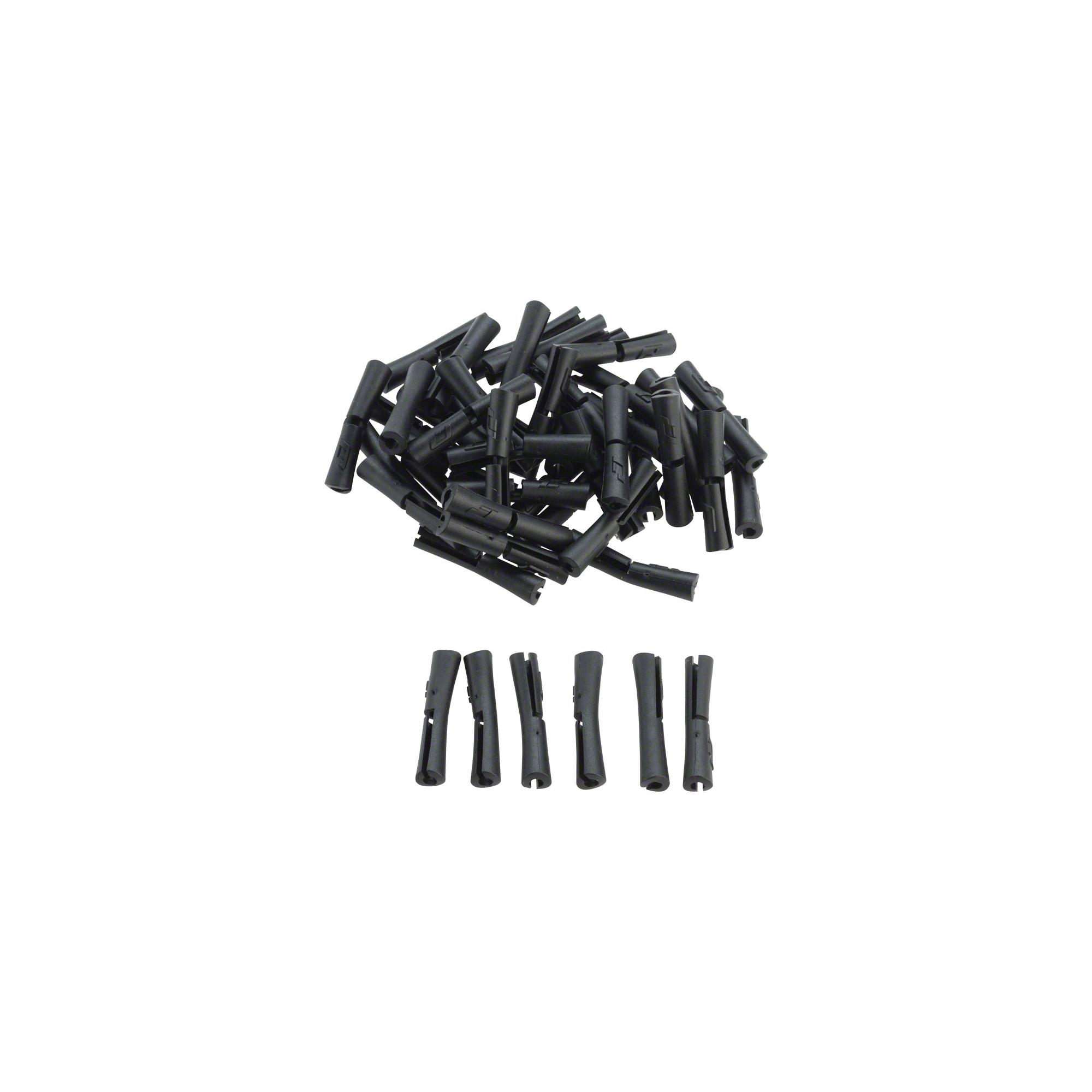 Black Bag//4 Jagwire Tube Tops 5G Frame Protectors for Brake or Shift Housing