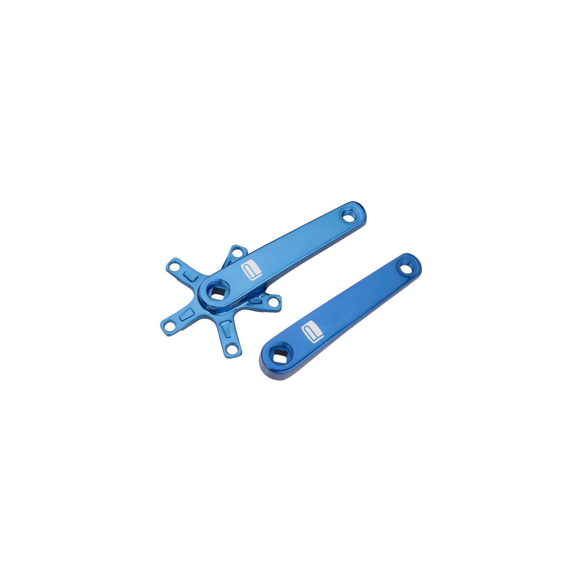 Promax SQ-1 Square Taper JIS Cold Forged Crank Arms 165mm Blue