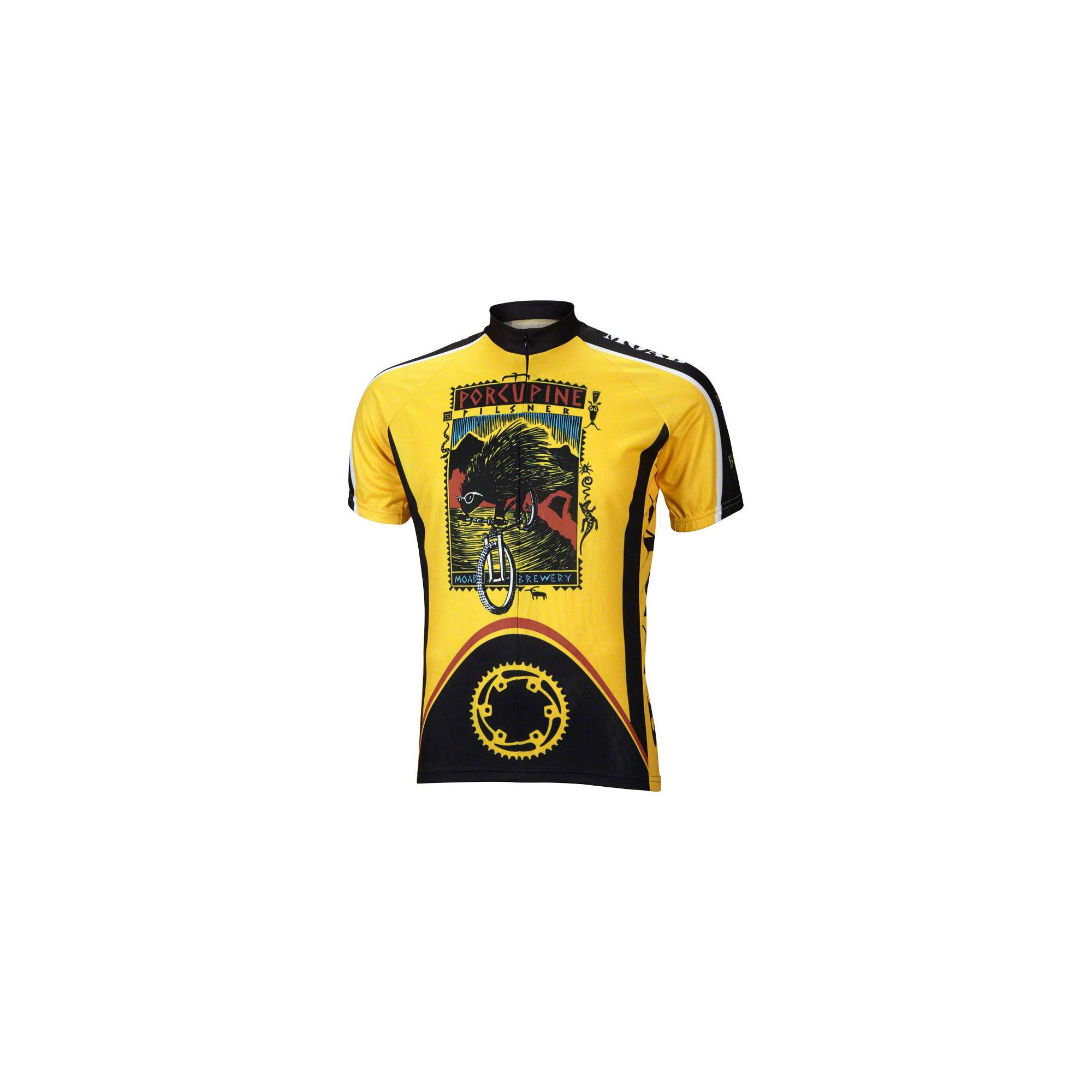 World Jerseys Men/'s Moab Derailleur Cycling Jersey