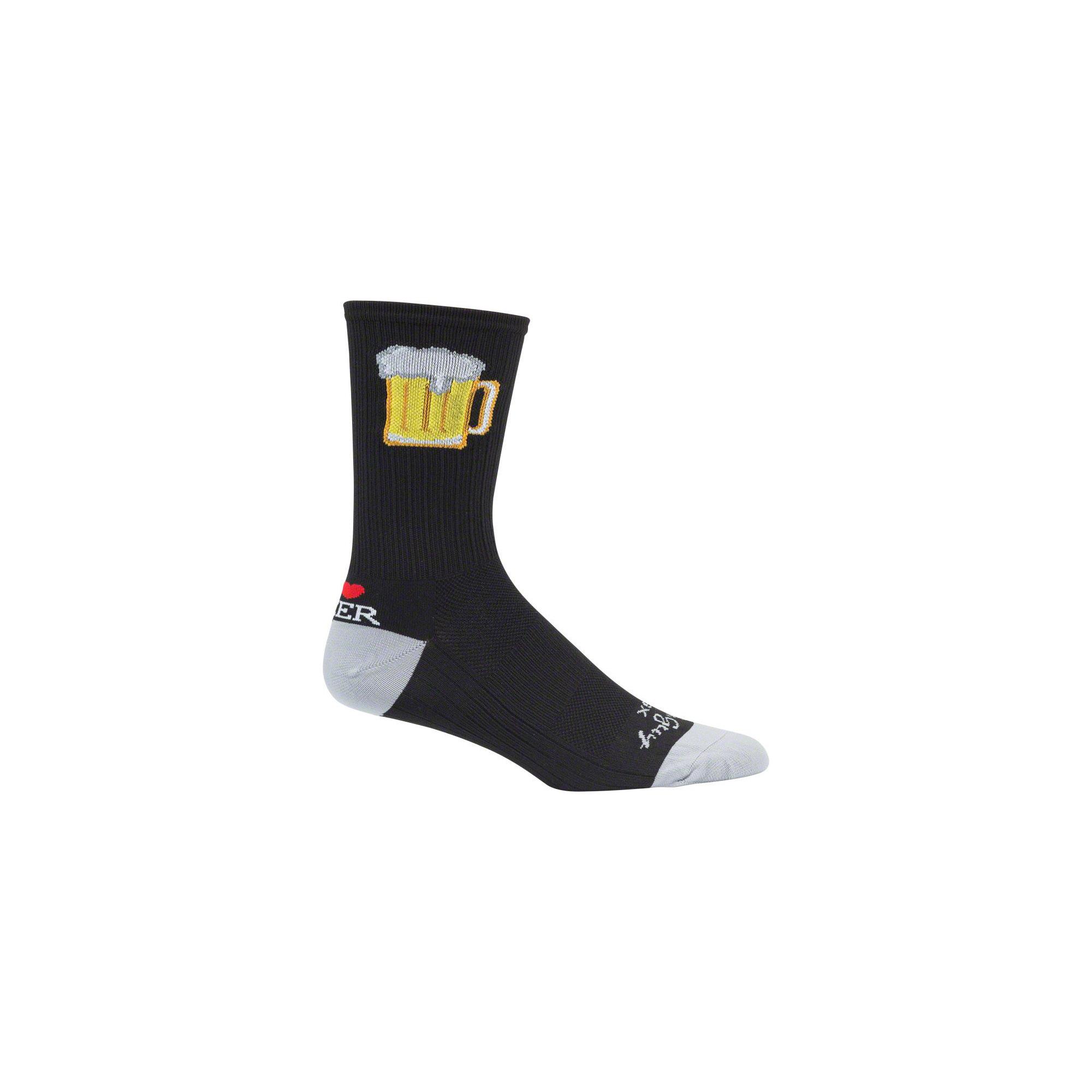 SockGuy SGX Sriracha Sock Black SM//MD
