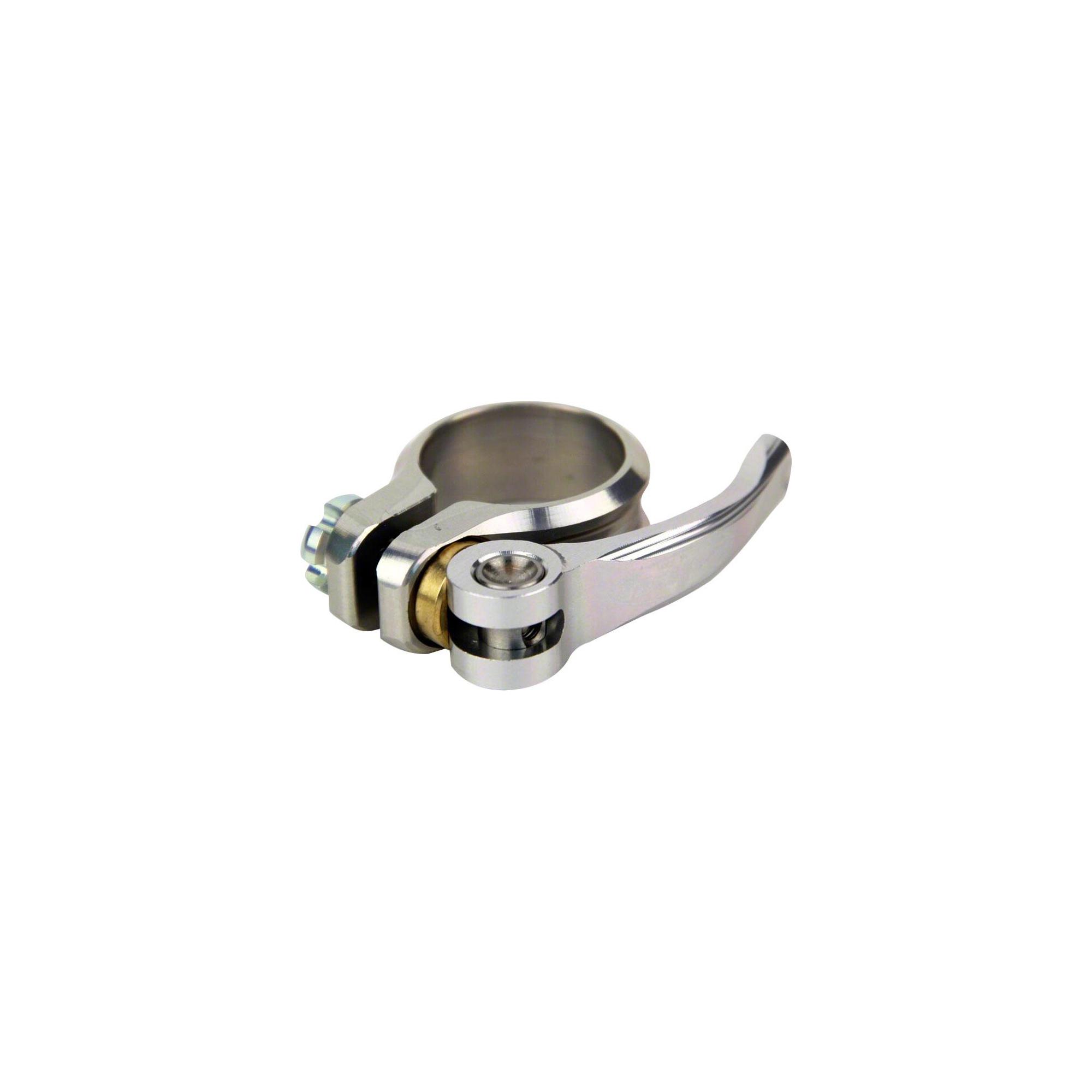 H67 34.9mm Silver gobike88 KREX Alloy QR Seatpost Clamp 42g