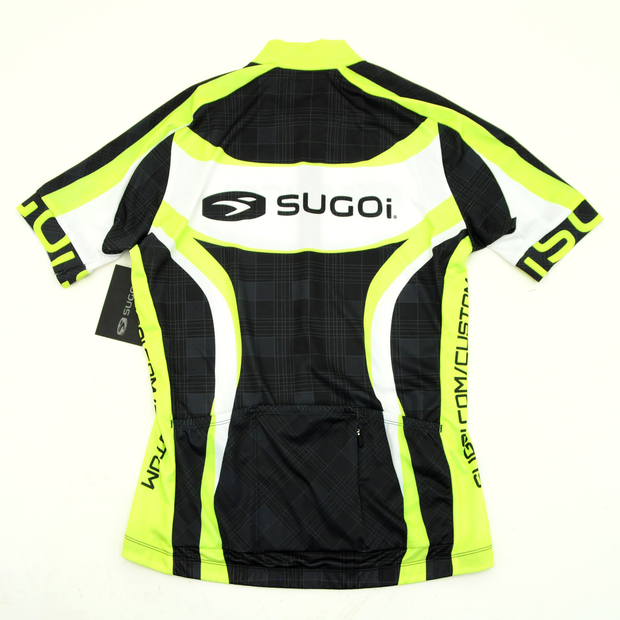 Sugoi RS Team Cycling Short-Sleeve Jersey Cannondale Green Black White  Medium 0e1bd23ce