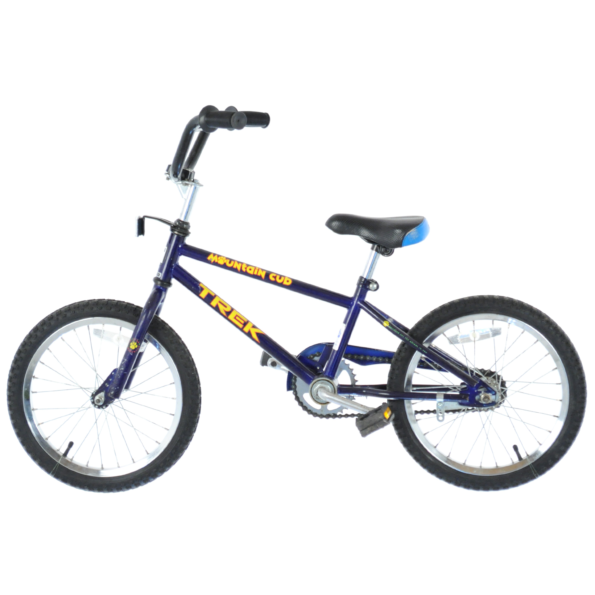 474ce51db0b 1990'S TREK MOUNTAIN CUB 16 Retro Kids Bike Bicycle // BLUE | eBay